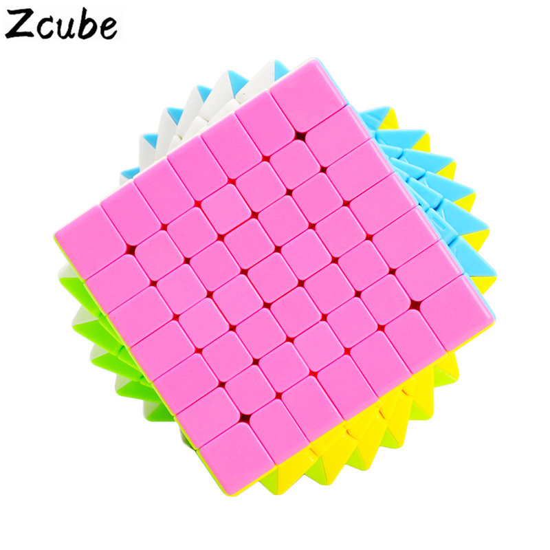 ZCUBE Cloud Series 7x7x7 pyramid Magic Cube Speed Cube Puzzle Toy - Colorful toy for children gift