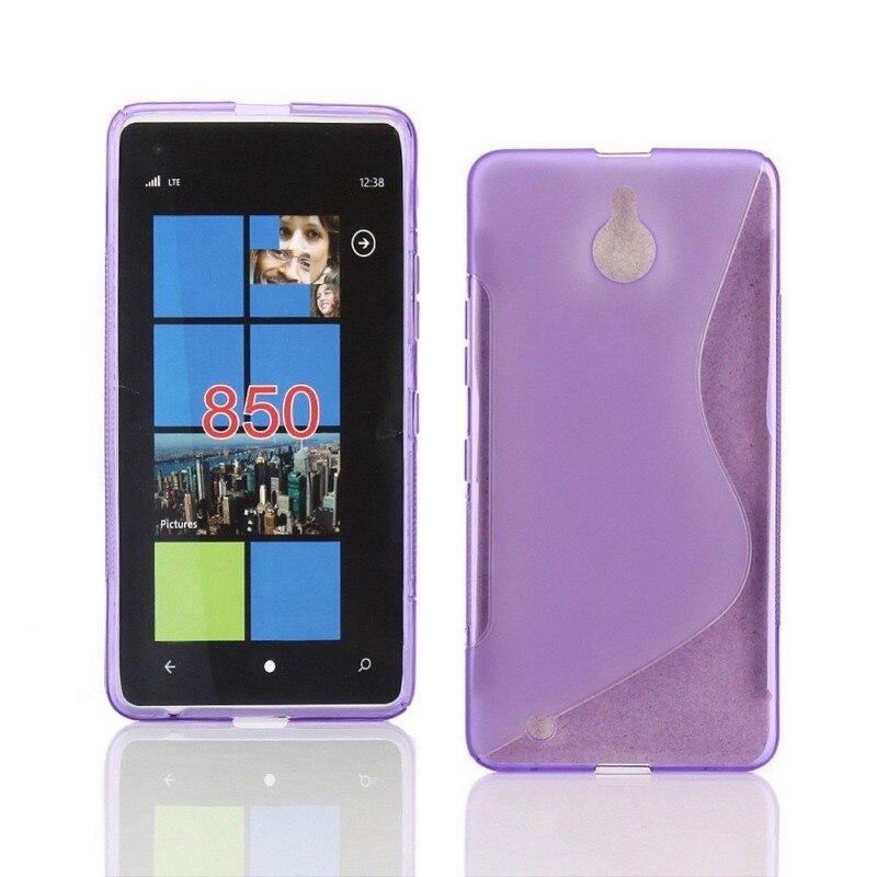 Pour Nokia 3 6 coque S conception de ligne souple TPU Gel coque de téléphone pour Nokia Microsoft Lumia 850 livraison directe - 5