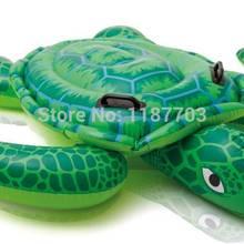 Надувная игрушка для плавания, Надувное детское сиденье для бассейна, плавающее кольцо, зеленая игрушка Черепаха