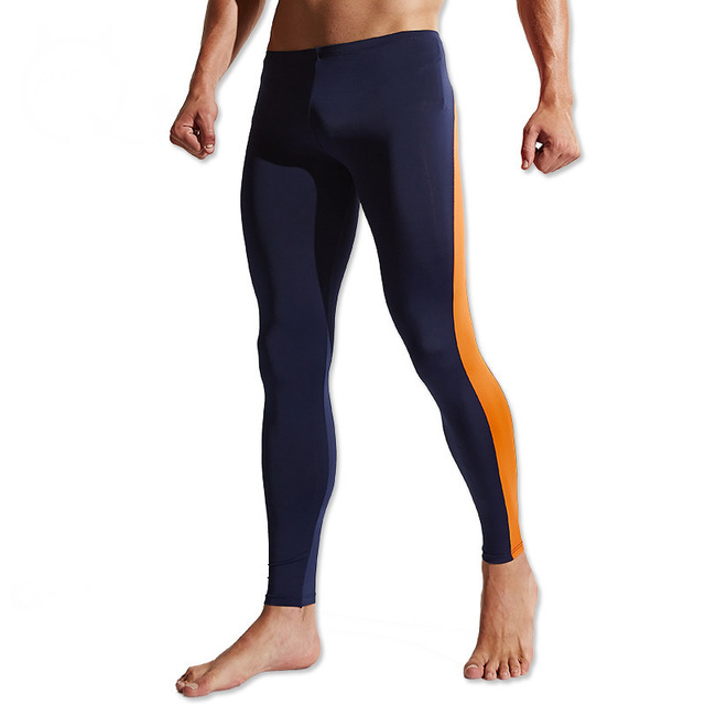 Men Compression Pants High Stretch Tight Pants Long Leggings Low Waist Sexy Men's Joggers Fashion Fit Sexy Designed Sweatpants