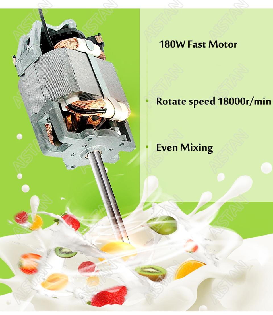 MS1 single head electric milk shaker blender for making milk for coffee with bottle stainless steel bar equipment 9