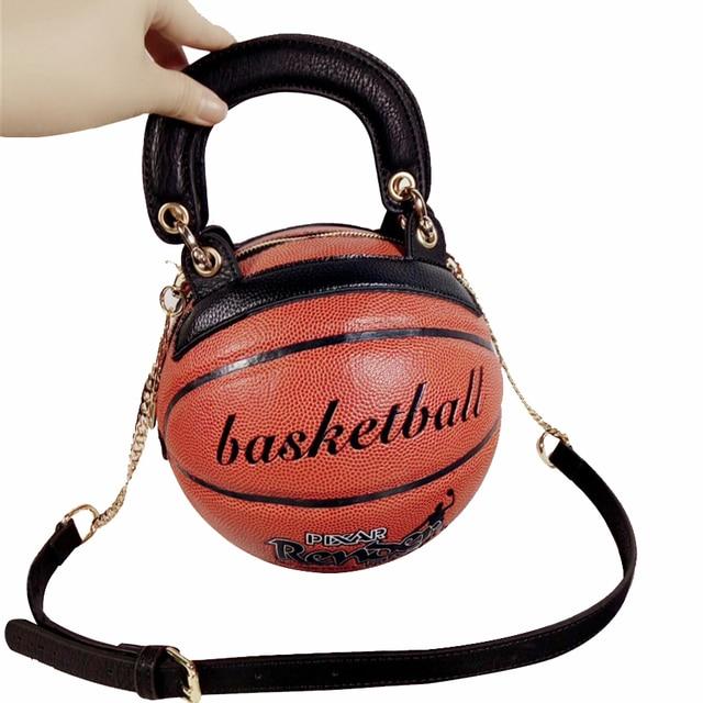 Модная баскетбольная форма сумки для женщин сумка женская сумка Роскошные сумки женские сумки круглые креативные забавные высококачественные