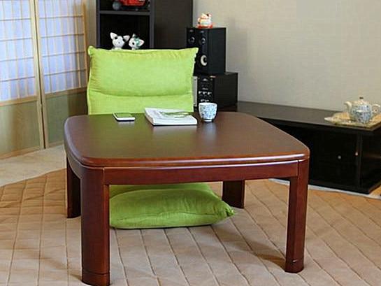 Kotatsu Table Solid Wood Living Room Furniture Foot Warmer Heated Japanese  Tatami Table Modern Wooden Asian