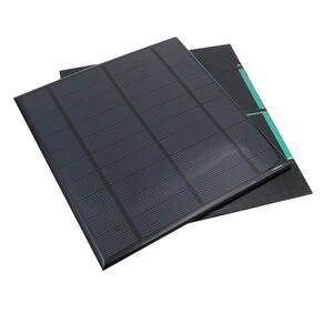 Image 4 - 5V 4.2W 840mA panneau solaire Portable Mini Sunpower bricolage Module panneau système pour lampe solaire batterie jouets téléphone chargeur cellules solaires