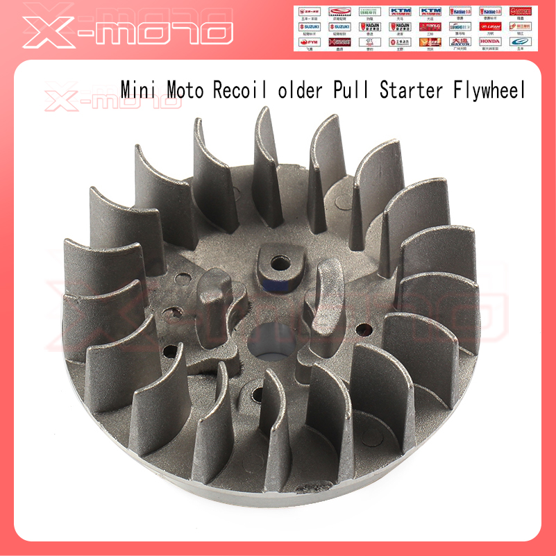 Pull Starter Mini Alloy Pull Starter Part Recoil Start For Most 49CC Pocket Bike Mini moto Quad