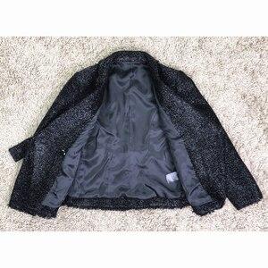 Image 5 - Blazer à paillettes argentées pour femme, blouson, nouvelle mode automne hiver, 2020