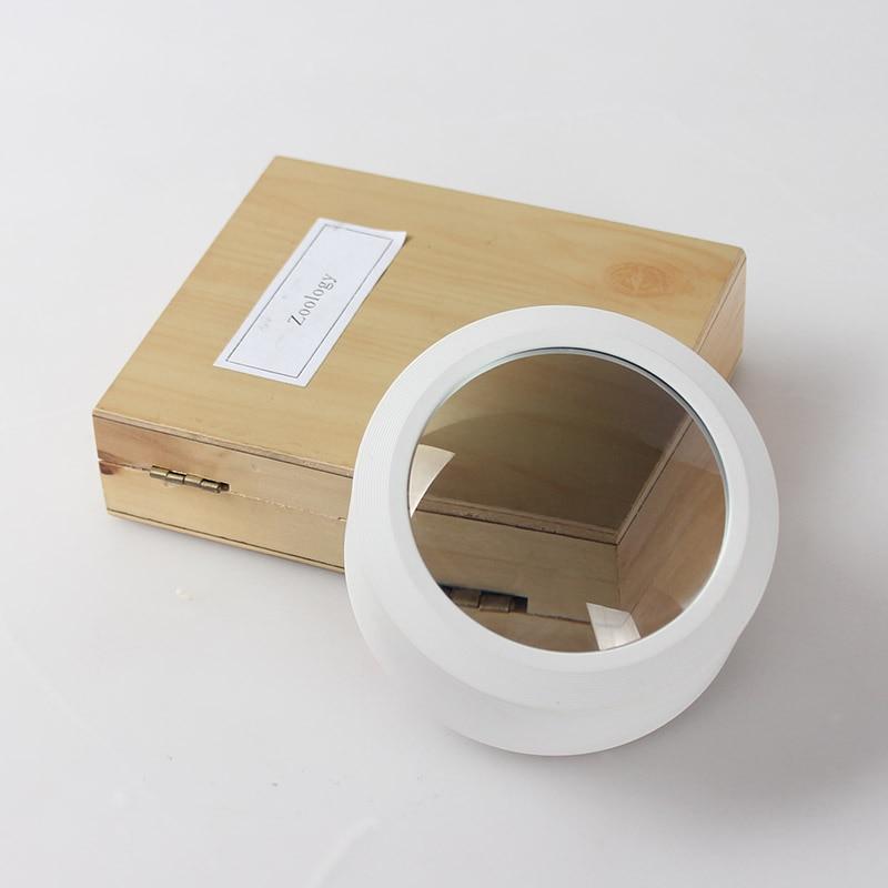 3,5x popierinis padidinamasis stiklas 3 LED apšvietimo spaudos tipo - Matavimo prietaisai - Nuotrauka 6