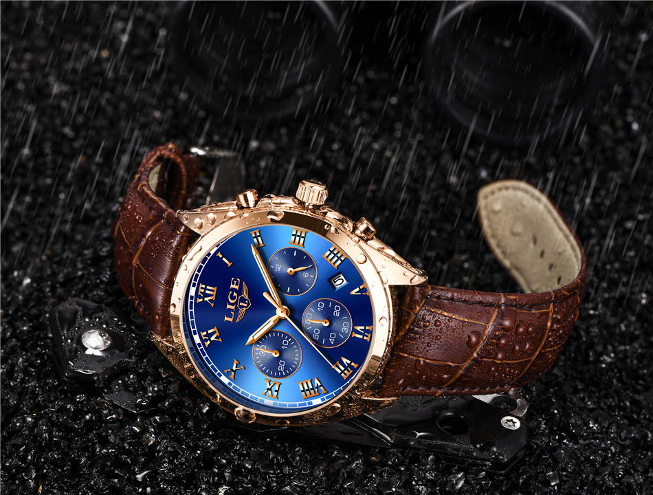HTB1GLe1wk9WBuNjSspeq6yz5VXa9 2020 LIGE Mens Watches Top Brand Luxury Waterproof 24 Hour Date Quartz Clock  Male Leather Sport Wrist Watch Relogio Masculino