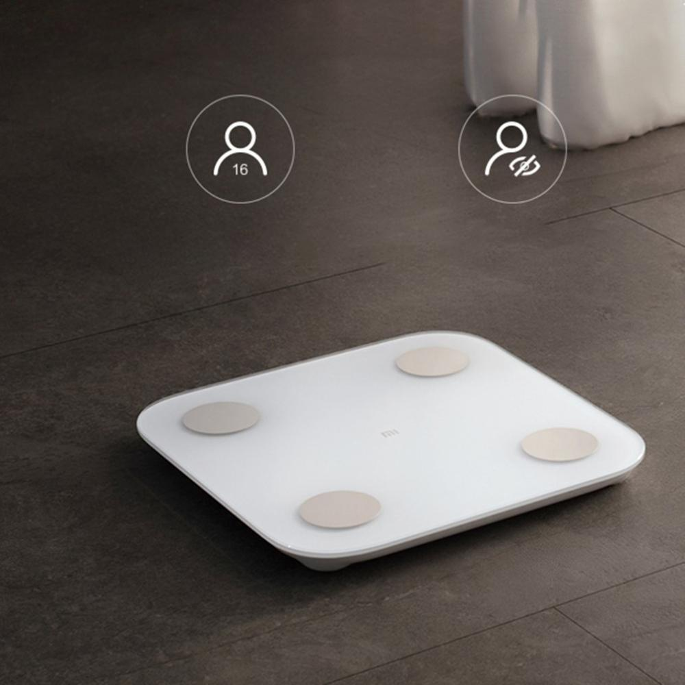 For Millet Body Fat Scale 2 Accurate Weight Scale Smart Home Adult Weight Loss Fat Mini Weighing Electronic Scale(China)
