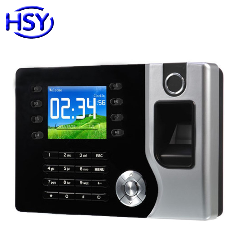 Biometric Fingerprint Time Attendance Clock Employee Recorder Recognition Device With Free Software And SDK