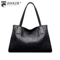 Zooler женская сумка известный бренд 2018 Новый Натуральная кожа Сумка сумки высокого качества большой емкости классический BOLSOS #1063