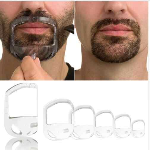 Beard Shaping Tool Template Double Sided Beard Comb New Hot Sale Shaving & Hair Removal Razor Tool for Men Free Ship