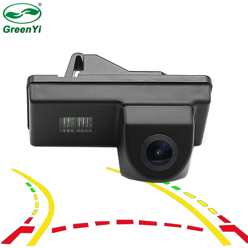 Intelligent Dynamic Trajectory Tracks Rear View Camera Backup Reverse Parking Camera For Toyota Reiz Land Cruiser 100 200 Prado