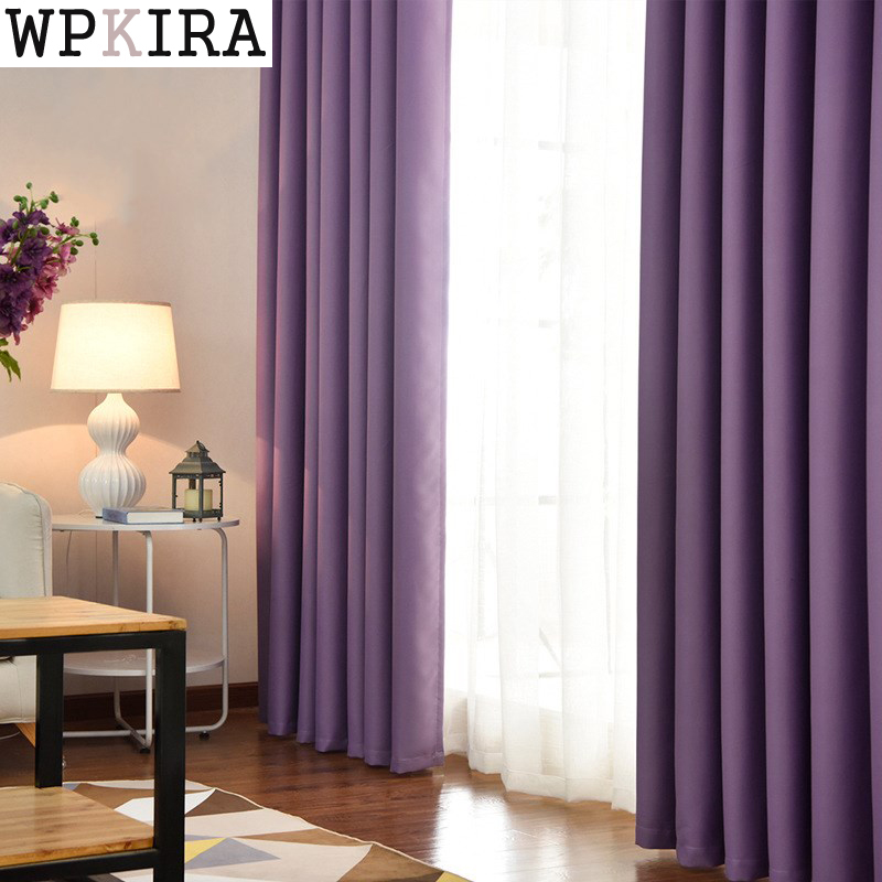 Bedroom Curtains With Pelmets Navy Curtains Bedroom Bedroom Ceiling Interior Bedroom Bench Argos: Purple Color Polyester Fiber Blackout Curtains For Living