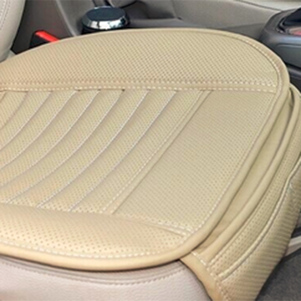 Beige color Comfortable Car Seat Covers Cushion
