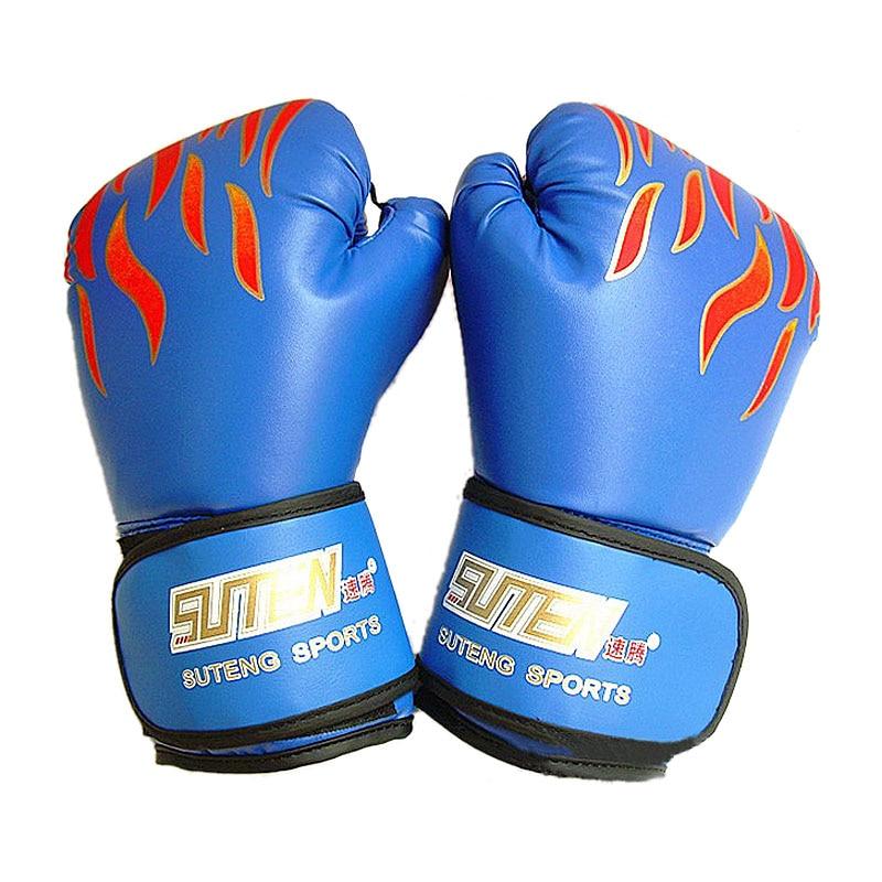 Suten Brand Adult Flame Box Handskar Professionella Sanda Boxing - Sportkläder och accessoarer