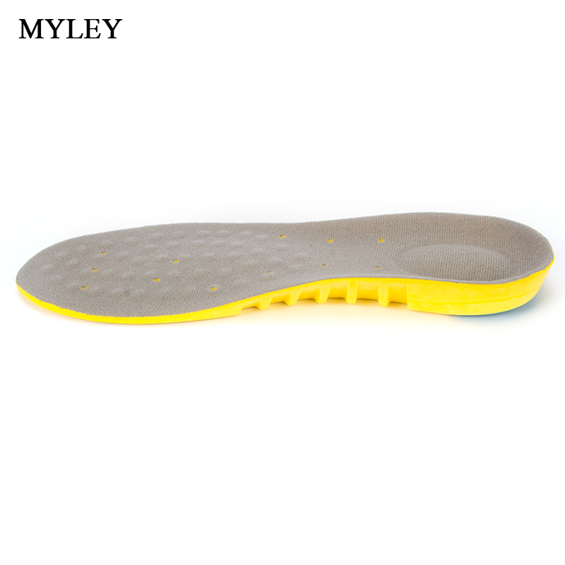 MYLEY Unisex Breathable Sweat Absorbing Orthotic Insoles Soft Comfortable Athletic Insole Shock Military Training Sport Shoe Pad expfoot orthotic arch support shoe pad orthopedic insoles pu insoles for shoes breathable foot pads massage sport insole 045