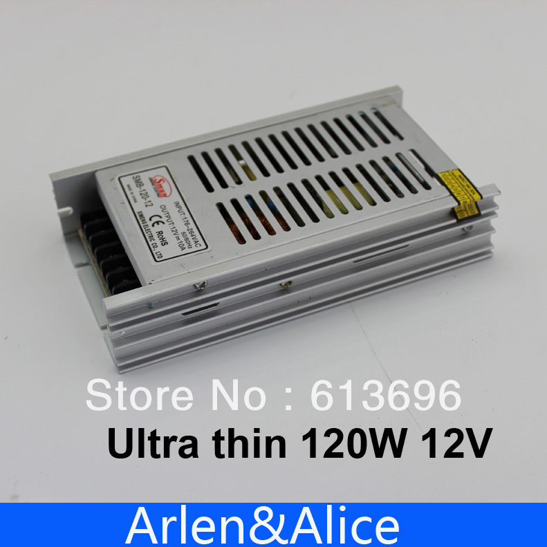 120W 12V Ultra thin Single Output Switching power supply for LED Strip light 20w 24v 1a ultra thin single dc output switching power supply for led strip light smps