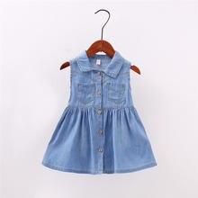 1d15b7fb91cc4 Newborn Baby Jeans Dresses Promotion-Shop for Promotional Newborn ...