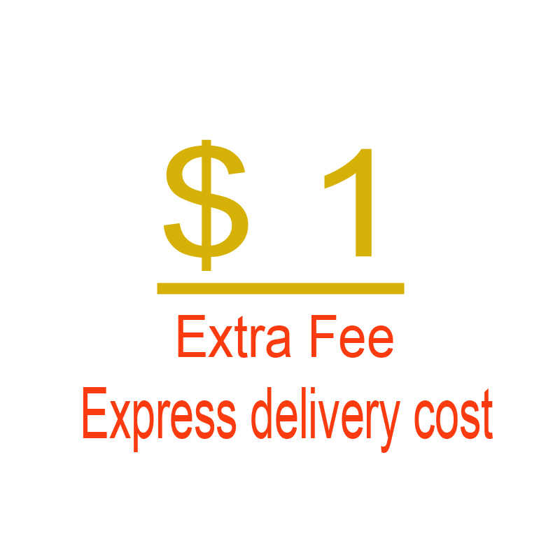 US$0.01 Extra Fee/Express delivery cost/Send extra parts for free, this link for upload tracking number