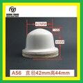 TJ A56 tampografía almohadilla de goma almohadilla de silicona Al Por Mayor para la impresora del cojín A56 (Tamaño: Diameter42 * High44MM)