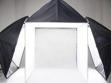 Adearstudio lightbox caixa de estúdio 60 cm softbox luz pano de fundo suave caixa de luz Cd50