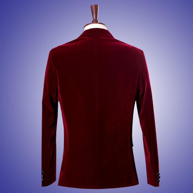 (Μπουφάν + Παντελόνι) Γαμπρός Tuxedo - Ανδρικός ρουχισμός - Φωτογραφία 5