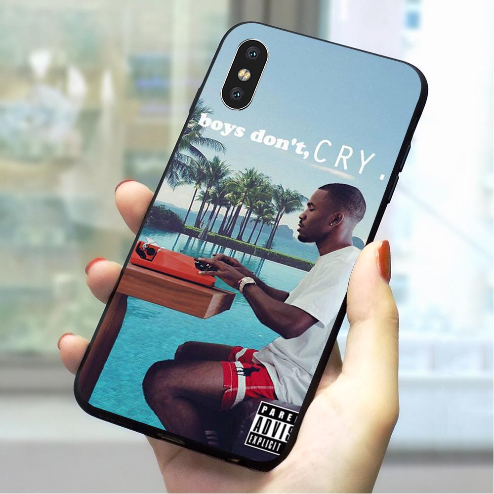 Odd Future Frank Ocean Soft TPU Cover for iPhone 7 Plus Colorful Phone Case for iPhone 8 X Xs Max XR 5 5s se 6 6s 7 Cases in Fitted Cases from Cellphones Telecommunications