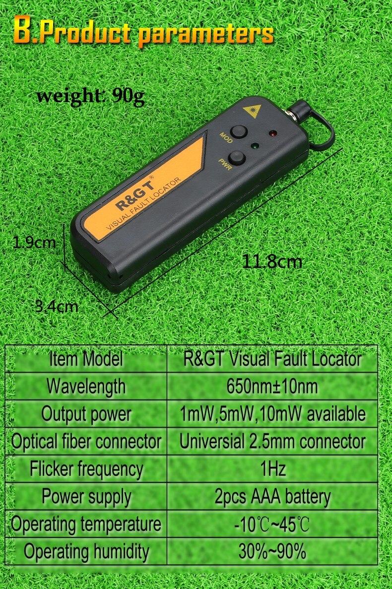 KELUSHI 30 мВт красный лазерный светильник Тестер Волоконно-Оптического Кабеля Визуальный дефектоскоп также 30 км проверки