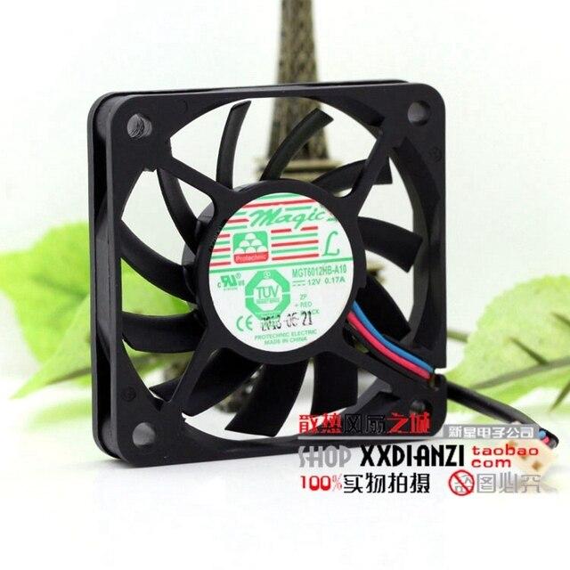 MGT6012HB-A10 6 cm 6010 0.17A 12 V bola ventilador de la CPU