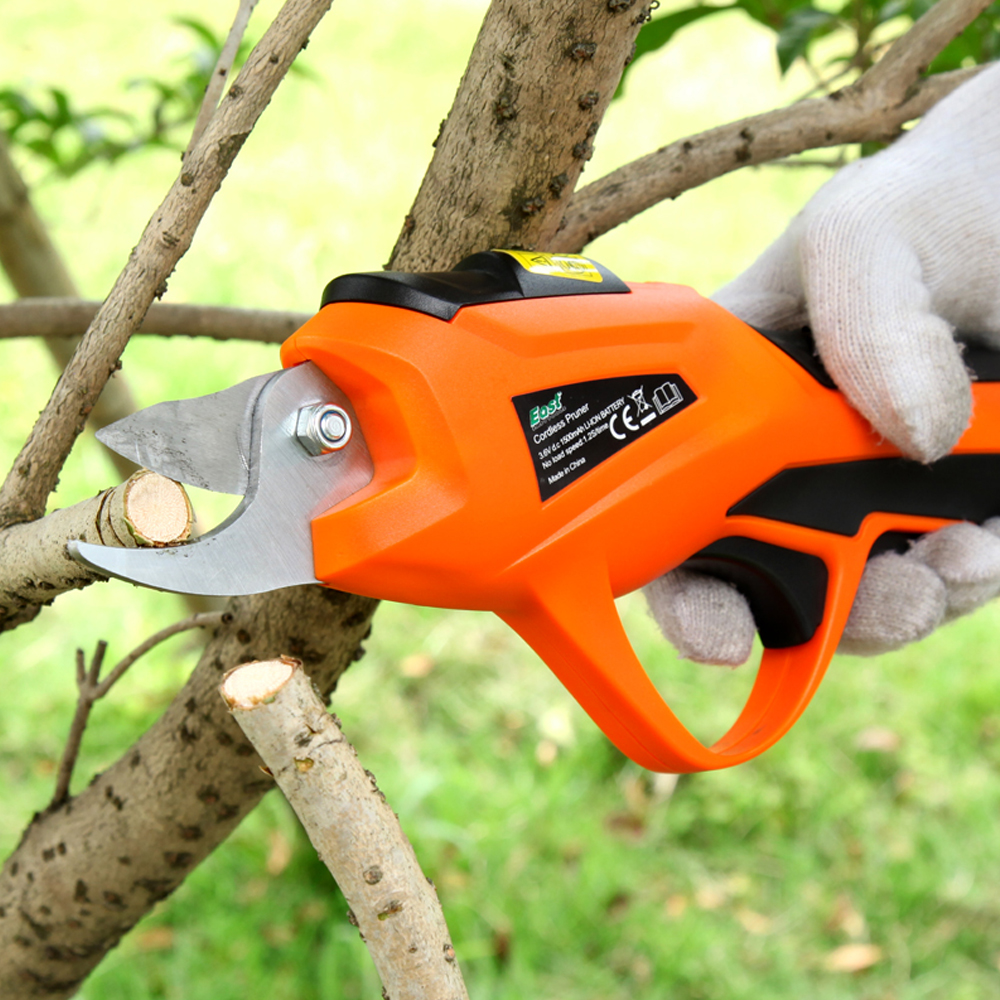 Electric Pruning Shear Rechargeable Home Garden Scissors Cordless Secateur Fruit Tree Branches Cutter 3.6V 1.5AH 1.2S / time купить