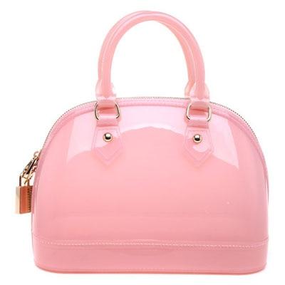 Furly Candy Handbags Women Bags Transparent Crystal Color With Lock Silicone Bolsas Femininas Summer Shell