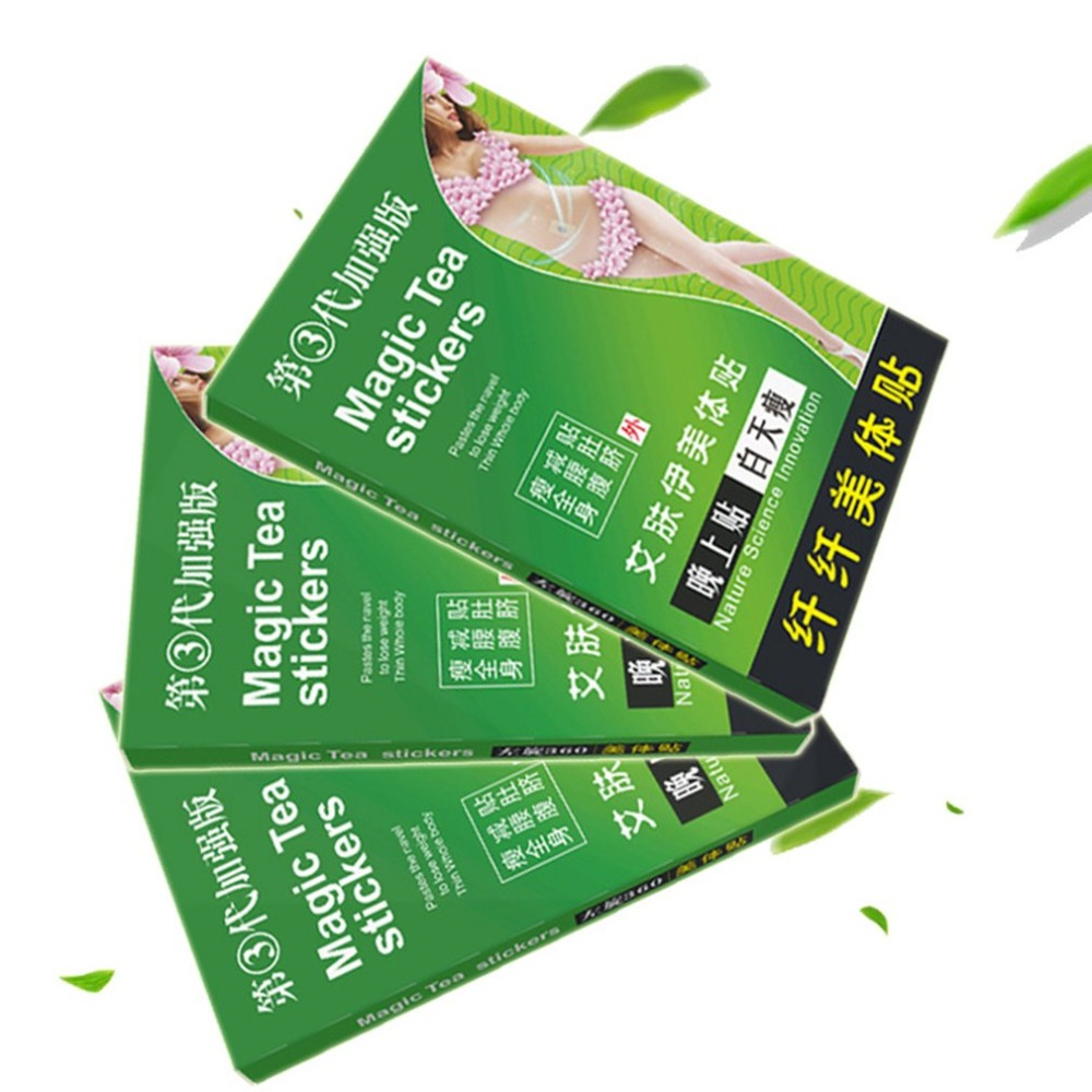 1/2/3/5pcs Slim patch Slimming beauty Health Stickers Long Lasting Fashion For W