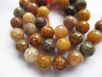 2strands 4 12mm Natural Colorful Ocean Agate Round Gemstone Beads Jewerlry Making Findings