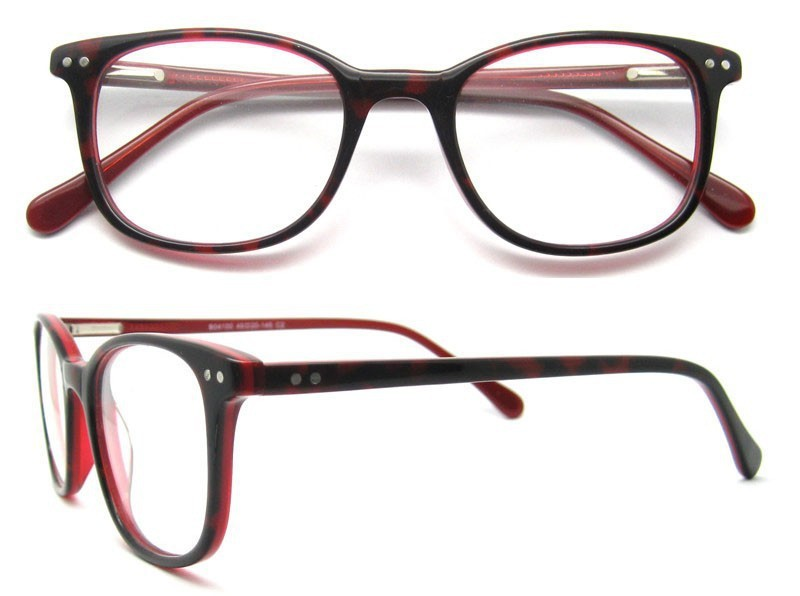 0d74022a4c New fashionable frames for optical glasses women oval red frame ...