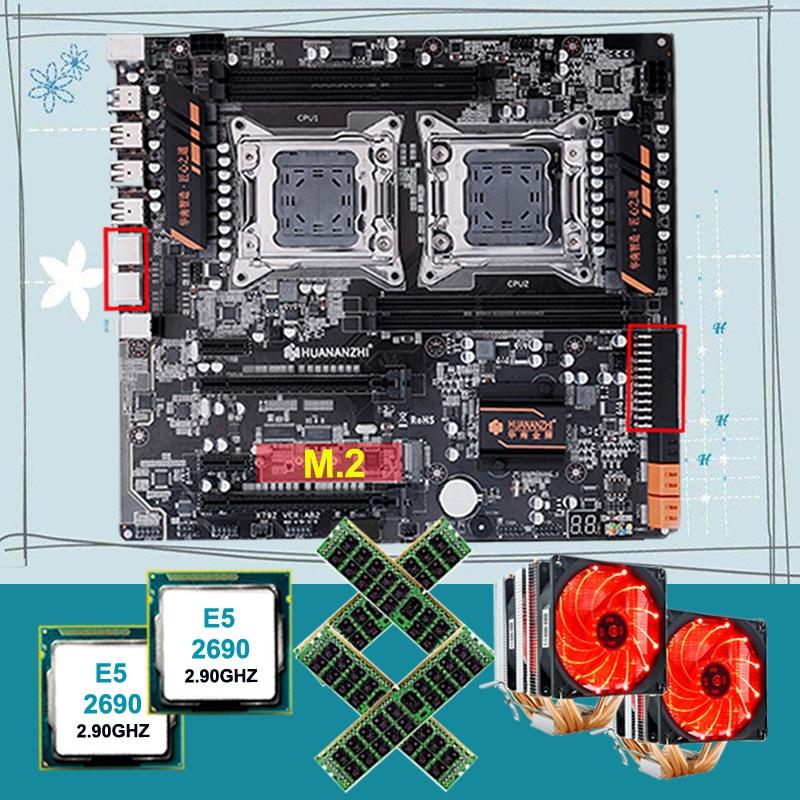 קנו רכיבי מחשב | Discount HUANANZHI dual X79 motherboard