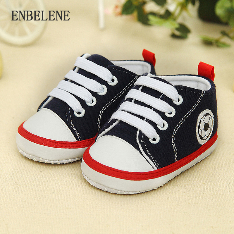 a01e0e9a01dad7 2 pairs lot 2018 autumn newborn baby first walkers for boys girls black  blue infant sneakers sport lace up canvas shoes FE012