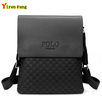 Men's Shoulder Bag for Travel w/ Letter Pattern