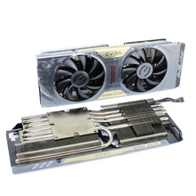 New Original for EVGA GTX770 2GB Dual SC w/ACX Graphics Video Card Cooler Cooling Fan Pitch 58MM new original for asus r9 270x pitch 53 53mm and 58 58mm dual graphics card cooler fan with heat sink