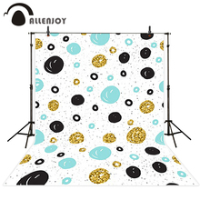 Allenjoy photo background Blue black gold little dots cool background Camera photography For a photo shoot