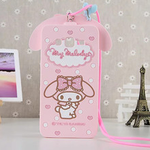 For Samsung Galaxy A3 A5 A7 J5 J7 Grand Prime G530 Cover Cute 3D Hello kitty My Melody Bow Cartoon Capa Soft Silicone Phone Case