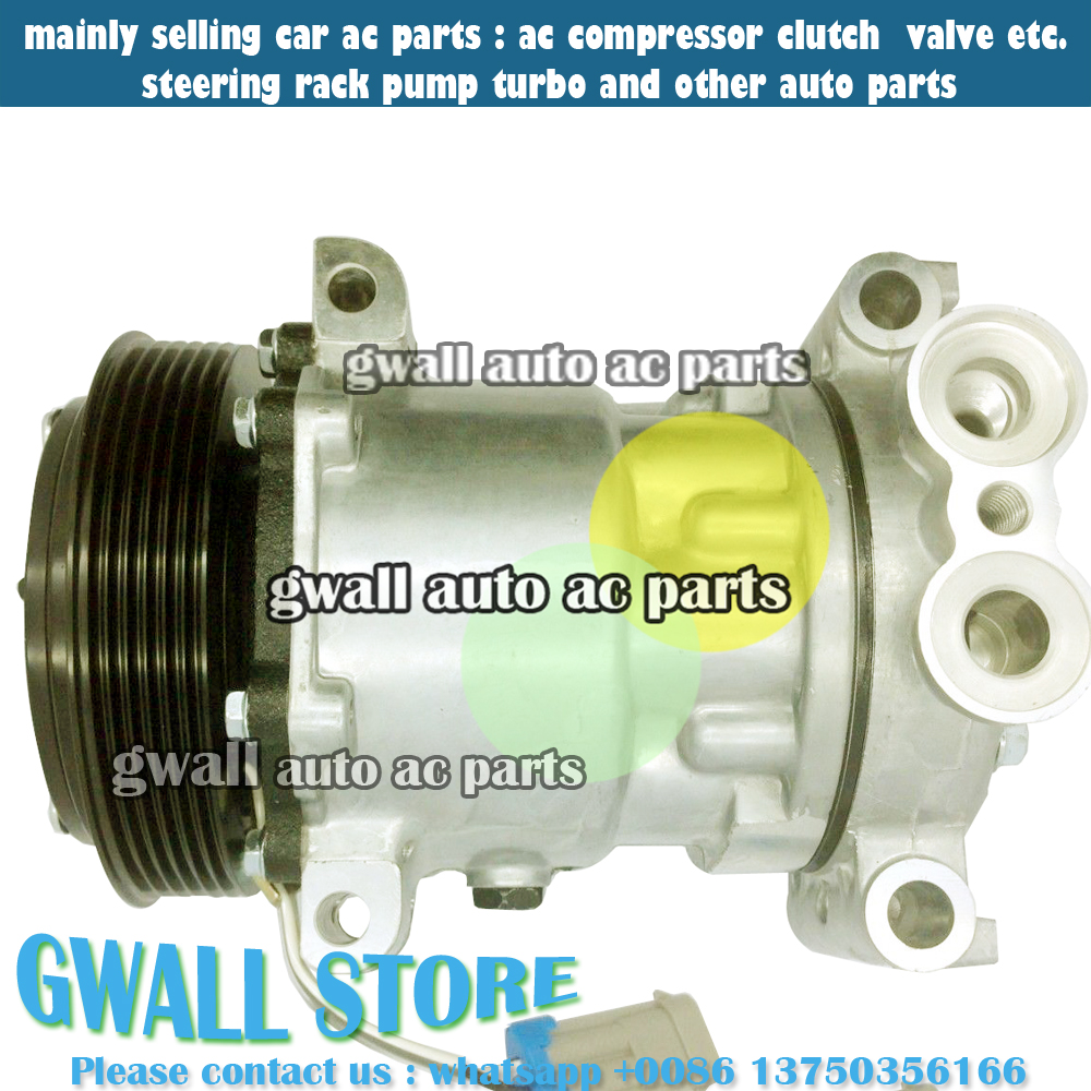 hight resolution of car auto ac compressor for car chevrolet tahoe 5 7l 6 5l v8 1996 2000