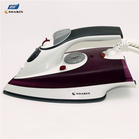 SOARIN Iron 1200W Portable Steam Iron Clothes Ironing Machine Flat Iron Steam Generator Plancha Vertical a Vapor Para Ropa irons
