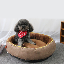Pet Dog Bed Warming Kennel House Soft Material Nest Cat Sleeping Baskets Fall and Winter Warm For Puppy Product