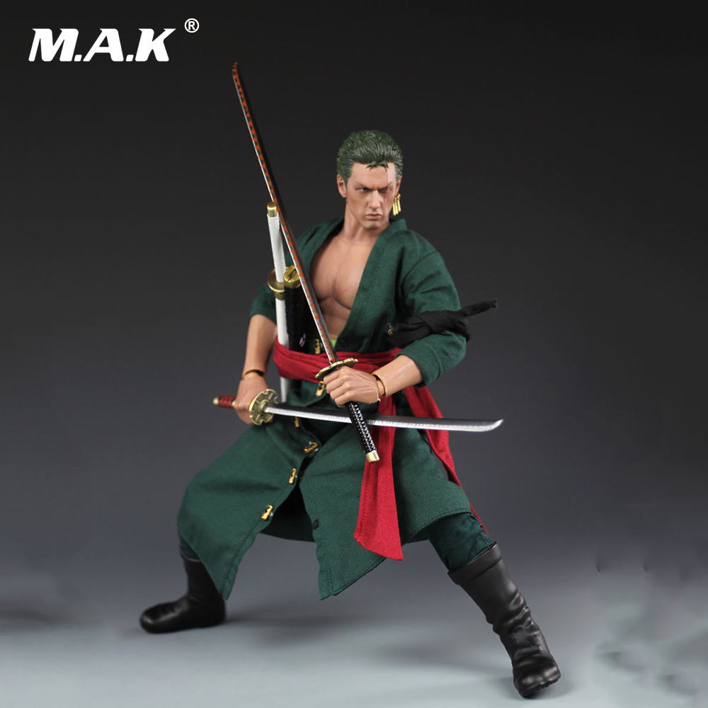 1/6 Scale Anime Action Figure One Piece Roronoa Zoro Action Figure Collectible Model Toy Gift for Children Kid Toys one piece action figure roronoa zoro led light figuarts zero model toy 200mm pvc toy one piece anime zoro figurine diorama
