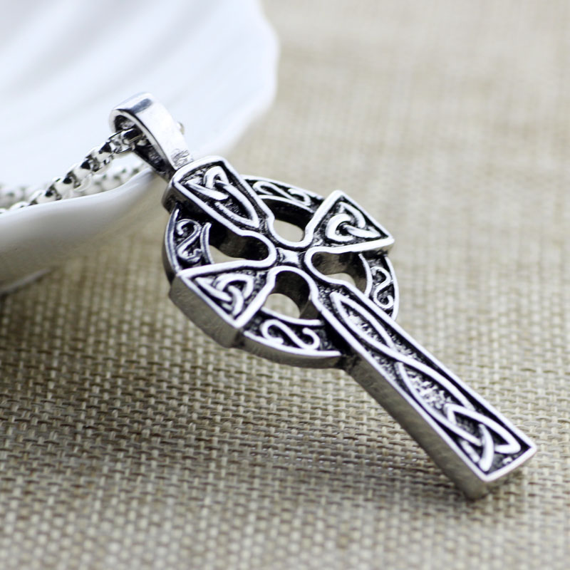 Celtic Viking Cross Necklace