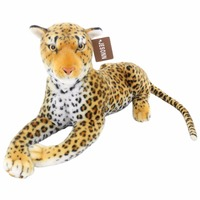 JESONN Realistic Stuffed Animals Leopard Plush Toys Cheetah For Children S Birthday Gifts