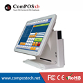 Cheap Price 15 inch TFT LED PoS System Capacitive Touch Screen Terminal Machine For Restaurant