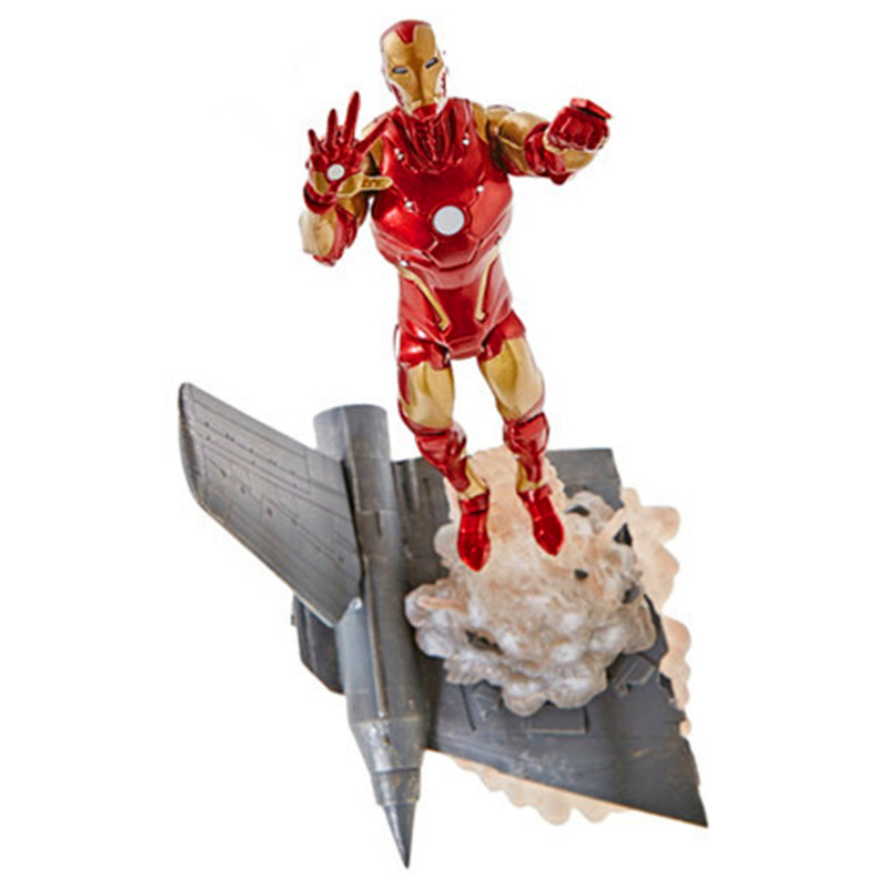 Avengers:Infinity War Superhero Tony Stark Iron Man Movable Joints PVC Action Figure Collection Model Toy G1230 free shipping marvel iron man action figure superhero tonny pvc figure toy 6 chritmas gift prototype