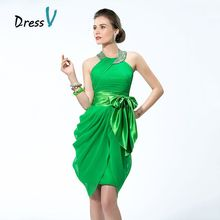 Best Selling Short Green Cocktail Dresses Pleated Beaded Halter Backless Party Dresses Homecoming Party Dresses Clubs Dresses